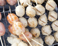 Alimento tailandese della via fotografie stock libere da diritti