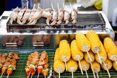Alimento tailandese della via Immagini Stock Libere da Diritti