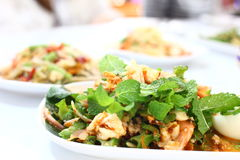 Alimento tailandese - frittura #6 di Stir Fotografie Stock
