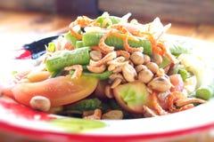 Alimento tailandese - frittura #6 di Stir Immagine Stock