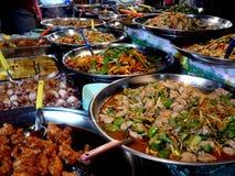 Alimento tailandese - frittura #6 di Stir Fotografie Stock Libere da Diritti