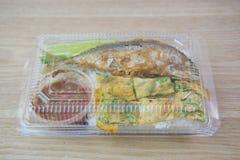 Alimento tailandese in pacchetto Immagini Stock