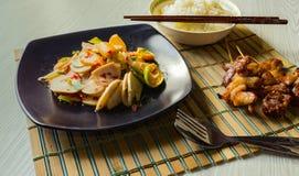 Alimento tailandese piccante Fotografie Stock Libere da Diritti