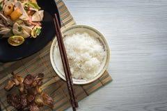 Alimento tailandese piccante Immagine Stock