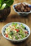 Alimento tailandese tradizionale, Larb Fotografie Stock Libere da Diritti