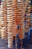 Alimento in tensione della via dello spuntino di scorpionas in Cina Fotografia Stock