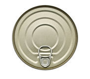 Alimento Tin Can Fotografia Stock Libera da Diritti