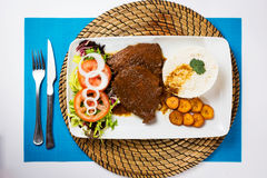 Alimento tipico del Venezuelan del negro di Asado Fotografia Stock