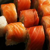 Alimento tradicional de Japón - rodillo Imagen de archivo