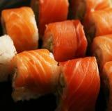 Alimento tradicional de Japão - rolo Imagem de Stock