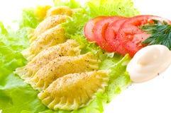 Alimento tradicional do russo Fotografia de Stock