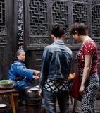 Alimento tradicional em cidades antigas fotos de stock royalty free
