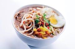 Alimento tradicional Malasia de Laksa Imagen de archivo libre de regalías