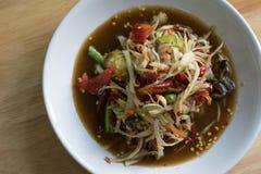Alimento tradicional ou tailandês tailandês imagem de stock