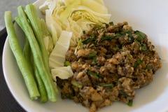 Alimento tradicional ou tailandês tailandês imagens de stock