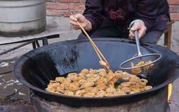 Alimento tradizionale cinese Fotografie Stock