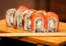 Alimento tradizionale del Giappone - rullo Immagine Stock Libera da Diritti