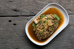 Alimento tradizionale o tailandese tailandese immagini stock