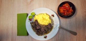 Alimento tradizionale rumeno immagini stock