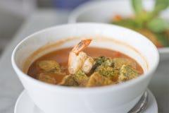 Alimento tradizionale tailandese delizioso Immagini Stock