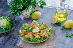 Alimento tradizionale turco, palle della lenticchia con le erbe fresche, fotografia stock libera da diritti