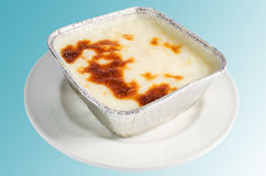 Alimento turco - pudín de arroz Fotografía de archivo