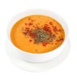 Alimento turco - sopa de lenteja Foto de archivo libre de regalías