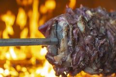 Alimento turco tradizionale, Kebap turco, fotografie stock libere da diritti