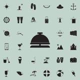 alimento in un'icona del vassoio Insieme dettagliato delle icone di piacere di estate Segno premio di progettazione grafica di qu illustrazione di stock