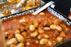 Alimento ungherese Fotografia Stock