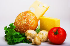 Alimento utile a salute Fotografie Stock