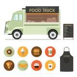 Alimento Van Vector Fotografie Stock