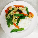 Alimento vegetal Imagens de Stock Royalty Free