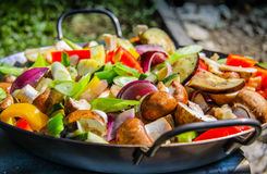 Alimento vegetal Fotografia de Stock Royalty Free