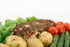 Alimento vegetal de la dieta de los weightloss sanos Foto de archivo