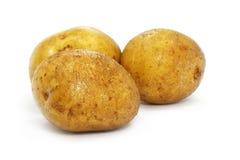 Alimento vegetal do naturel da batata imagem de stock royalty free