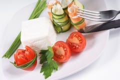 Alimento vegetariano Imagen de archivo libre de regalías