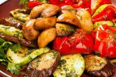 Alimento vegetariano Immagini Stock Libere da Diritti