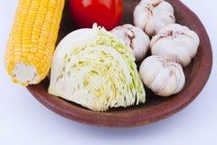 Alimento vegetariano Immagine Stock Libera da Diritti