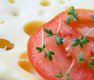 Alimento vegetariano Fotografie Stock
