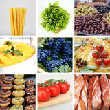 Alimento vegetariano Immagine Stock
