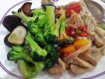 Alimento vegetariano Fotografie Stock Libere da Diritti