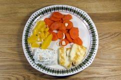 Alimento vegetariano Immagini Stock