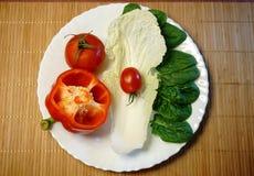 Alimento vegetariano di dieta Immagine Stock Libera da Diritti