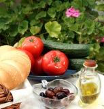 Alimento vegetariano sano fotografia stock libera da diritti