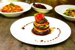 Alimento vegetariano immagine stock