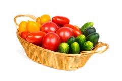 Alimento vegetariano, verdure organiche fresche Fotografia Stock