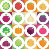 Alimento verde e saudável fresco Imagem de Stock