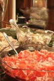 Alimento video Fotografie Stock