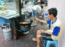 Alimento vietnamiano, bolinhas de massa fritadas Fotos de Stock